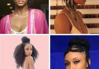 Trend 50 hottest black celebrity hairstyles you can copy new African American Celebrity Hairstyles