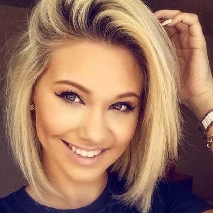 Permalink to Beautiful Cute Short Haircuts Round Face Ideas