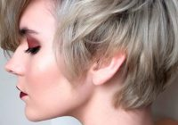 Trend 57 blonde short hairstyles for round faces Hairstyles For Round Faces And Thick Hair Short Ideas
