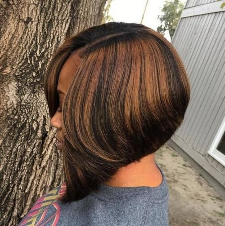 Permalink to 9 Interesting African American Bob Hairstyles With Highlights