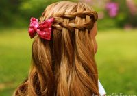 Trend american girl doll hairstyle double waterfall twist American Girl Hair Style Ideas