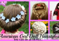 Trend american girl doll hairstyles round up life is sweeter Styling American Girl Doll Hair Designs