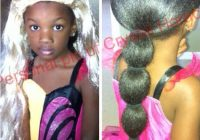 Trend black parents please stop allowing your young daughters to African American Hairstyles With Extensions Designs