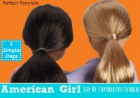 Trend one savvy mom nyc area mom blog become an instant American Girl Hair Style Designs