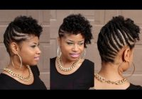 Trend pin m c on hair and makeup short natural hair styles Updo Styles For Short Natural Hair Inspirations