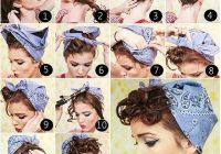Trend pin on rockabilly Bandana Styles For Short Hair Ideas