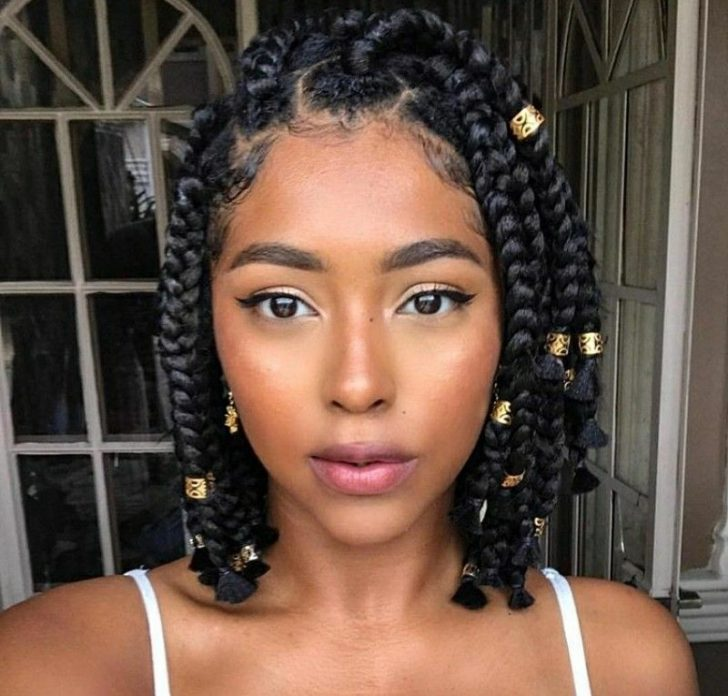 Permalink to 10 Interesting African American Braided Hairstyles For Short Hair Gallery