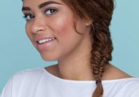 Trend thick curly hair 20 easy and modern hairstyles we love Braided Hairstyles For Thick Curly Hair Inspirations