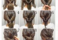 Trend top 100 easy hairstyles for short hair photos what a Short Hair Styles Updo Inspirations